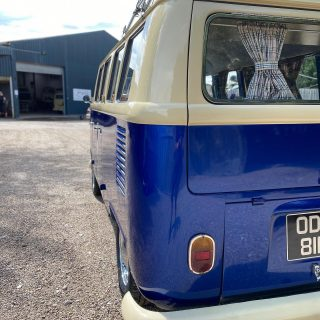 Collection day yesterday for Chris's Splitscreen now with Ej20 conversion & rebuilt gearbox with 2litre diff. More info contact us 📞 or 📧 #vw #classicvw #splitbus #splitscreen #subaru #scooby #engineconversion #weddingbus