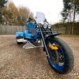 Something a little different for us @ Fellows, A trike 😄 This has a beetle rear end and had originally a 1200 air cooled.... customer wanted more power... Subaru it is then 🤙🏼 swipe to see video ➡️ #subaru #trike #trikebike #motorbike #somethingdifferent #fellowsspeedshop #blue #power #engineconversion